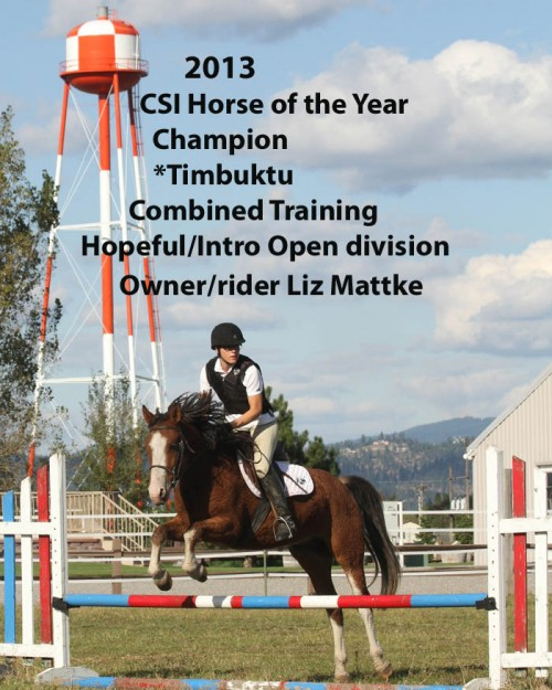 CSI 2013 Horse of the Year_ Combined Training_Intro