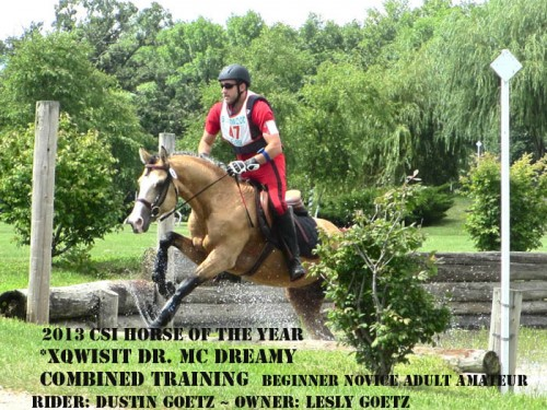 CSI 2013 Horse of the Year_Combined Training_ Beginner Novice